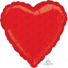 Love Red Junior Shape Shaped Balloon