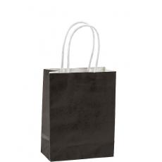 Black Kraft paper Favour Bag