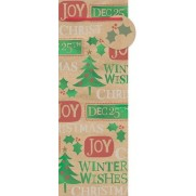 Christmas Contemporary Sayings Bottle Bags & Gift Tags Misc Accessorie