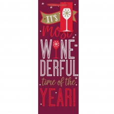 Christmas Party Supplies - Favour Bag It's the Most Wine-Derful Time of the Year