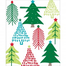 Christmas Fun Small Vertical Favour Bags