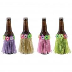 Hawaiian Luau Grass Skirt Bottle Covers Misc Decorations