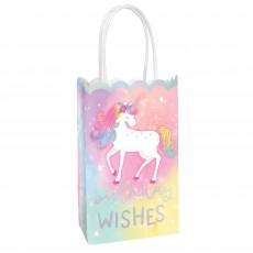 Magical Unicorn Party Supplies - Favour Bags Enchanted Unicorn
