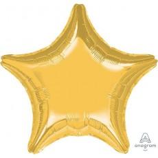 Gold Jumbo Shaped Balloon