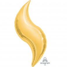 Gold SuperShape Shaped Balloon
