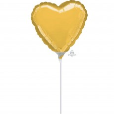 Gold Shaped Balloon