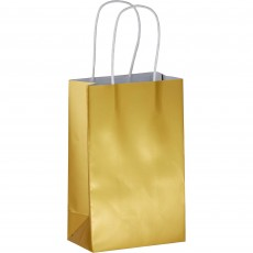 Gold Mini Paper Favour Bag