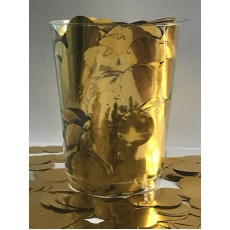 Gold 2cm Metallic Circles Confetti