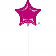 Magenta Fuchsia  Shaped Balloon