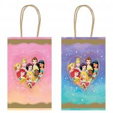 Disney Princess Once Upon A Time Kraft Paper Favour Bags 21cm x 12cm x 8cm Pack of 8