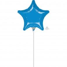 Blue Shaped Balloon