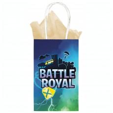 Battle Royal Kraft Favour Bags 12cm x 21cm x 8cm Pack of 8