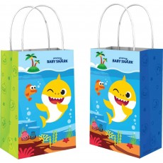 Baby Shark Party Supplies - Favour Bags Kraft Paper