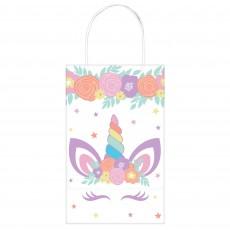Unicorn Fantasy Party Supplies - Favour Bags Unicorn Party Kraft Paper
