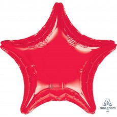 Red Jumbo Shaped Balloon