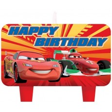 Disney Cars 2 Mini Moulded Candles