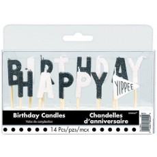Chalkboard Candles