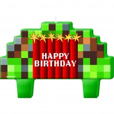 Minecraft TNT Mini Moulded Candles Pack of 4