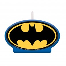 Batman Party Supplies - Candle Heroes Unite