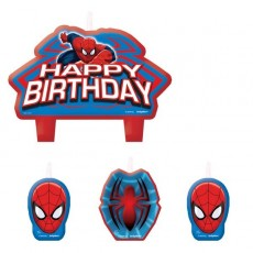 Spider-Man Ultimate  Mini Candles