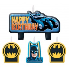 Batman Mini Moulded Candles