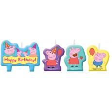 Peppa Pig Mini Moulded Set Candles