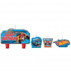 Hot Wheels Wild Racer Mini Moulded Candles