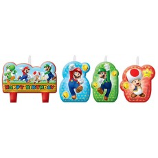 Super Mario Mini Candles