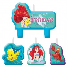 The Little Mermaid Ariel Dream Big Mini Moulded Candles Pack of 4