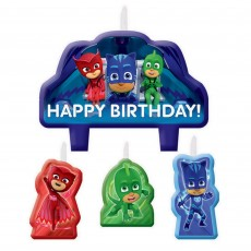 PJ Masks Mini Moulded Candles