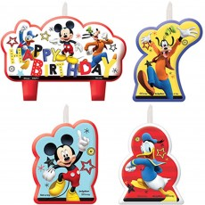 Mickey Mouse On The Go Mini Moulded Candles
