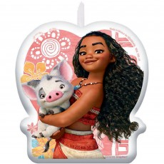 Moana Party Supplies - Candle