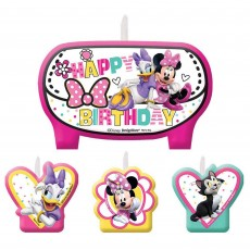 Minnie Mouse Happy Helpers Candles Pack of 4