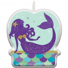 Mermaid Wishes Birthday Wishes Candle