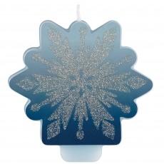 Disney Frozen 2 Glittered Candle 8cm