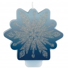 Disney Frozen 2 Glittered Candle