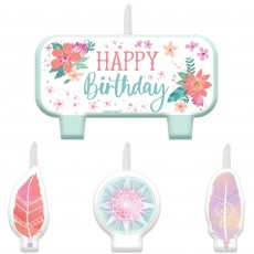 Free Spirit Party Supplies - Candles Mini Moulded