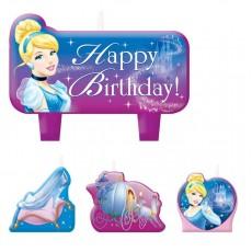 Cinderella Mini Moulded Candles