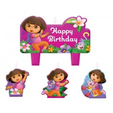 Dora the Explorer Candles
