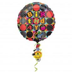 Happy Birthday Jumbo Squares Sing-A-Tune XL Singing Balloon