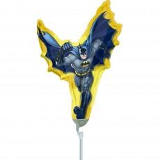 Mini Batman Action Shaped Balloon