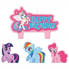 My Little Pony Party Supplies - Candles Friendship Mini Moulded