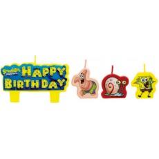 SpongeBob Candles