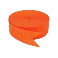 Orange Peel  Crepe Streamer