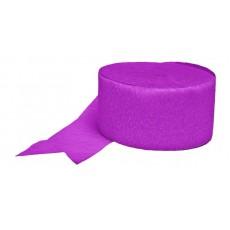 Pink Hot  Crepe Streamer