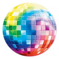 Disco & 70's Disco Fever Glossy Paper Cutout