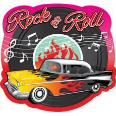Rock n Roll Classic 50's Printed Paper Cutout 26.6cm