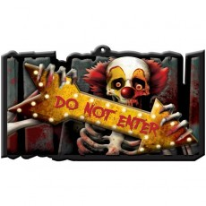 Halloween Sign Misc Decoration