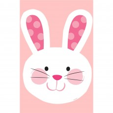 Easter Bunny Head Cutout