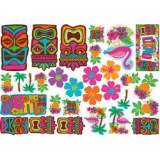Hawaiian Luau Tiki Mega Value Pack Assortment Cutouts